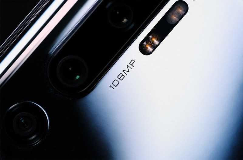 Xiaomi Mi Note 10 камера
