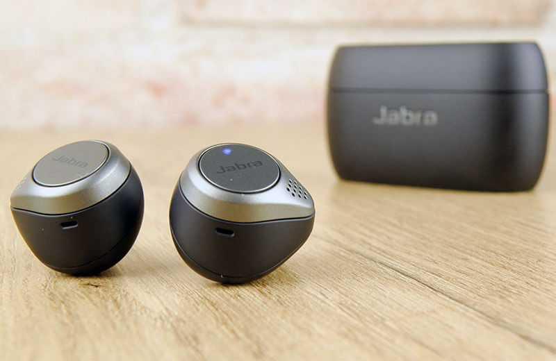 Jabra Elite 75t микрофоны