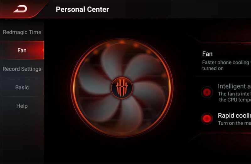 Nubia Red Magic 3S охлаждение