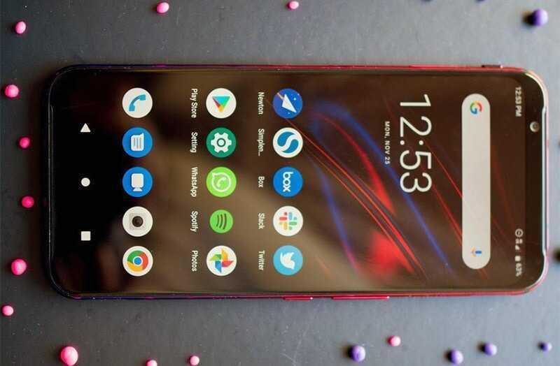 Nubia Red Magic 3S экран