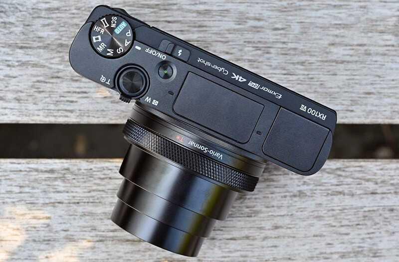 Sony RX100 VII дизайн