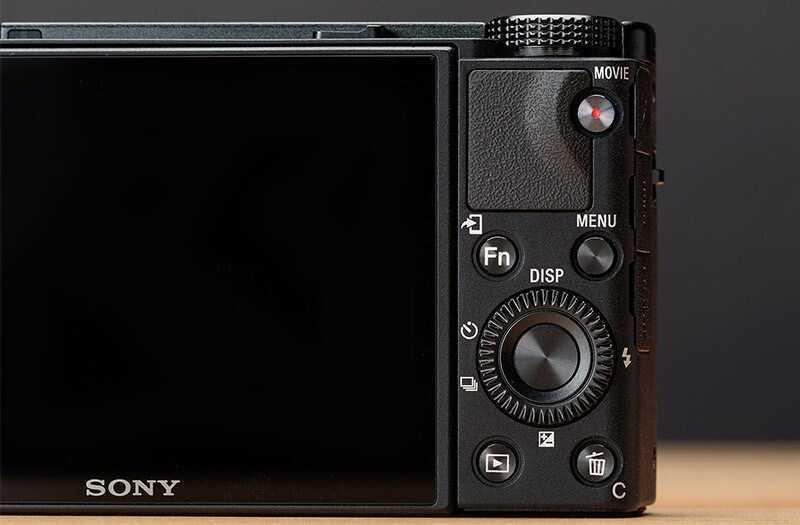 Sony RX100 VII экран