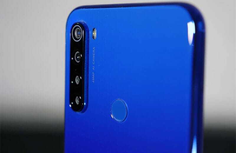 Xiaomi Redmi Note 8T камеры