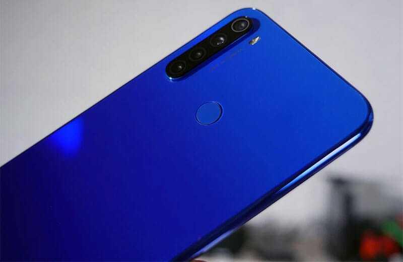 Xiaomi Redmi Note 8T камера