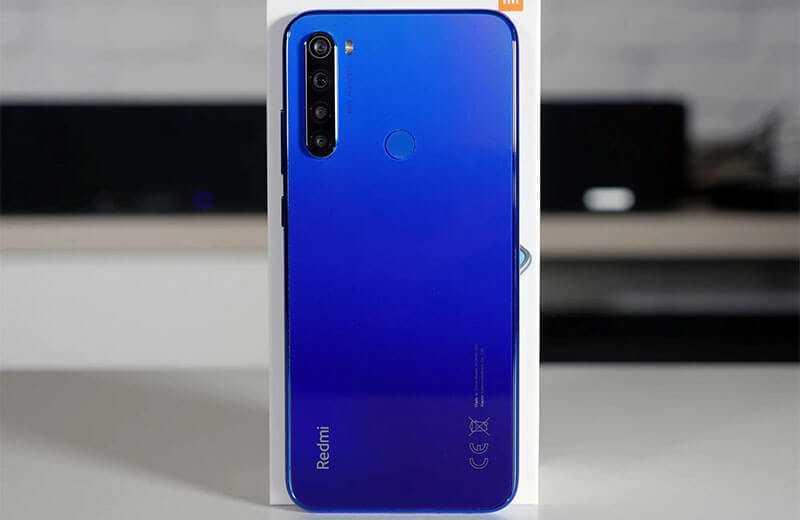 Камеры Redmi Note 8T