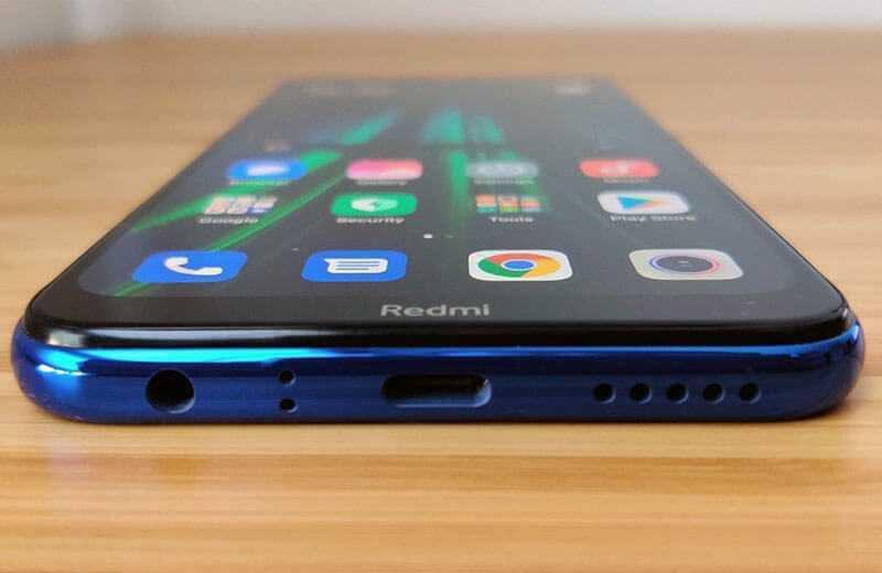 Xiaomi Redmi Note 8T звук