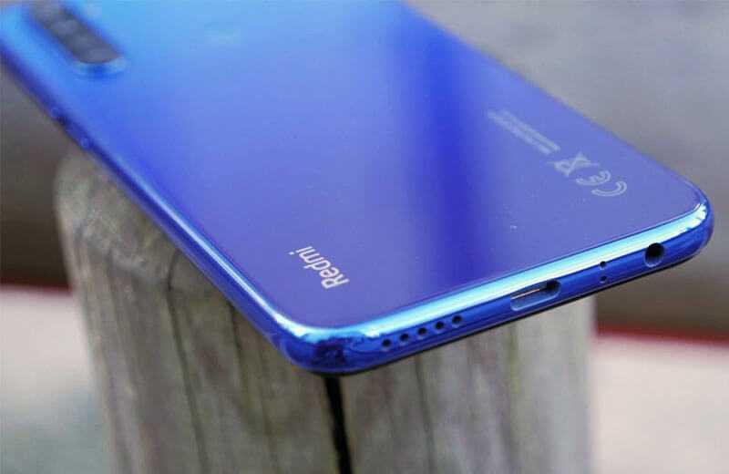 Xiaomi Redmi Note 8T разъёмы
