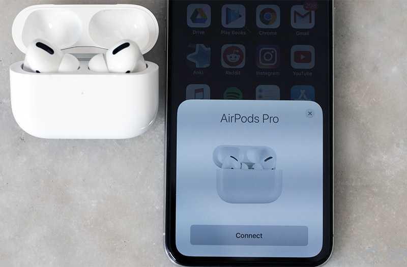 Apple AirPods Pro подключение