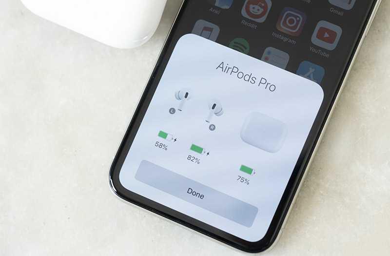 Apple AirPods Pro функции