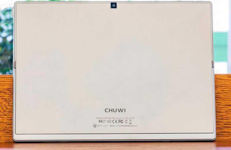 Chuwi UBook Pro задняя камера