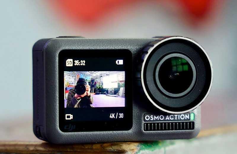 DJI Osmo Action: лучшая альтернатива GoPro