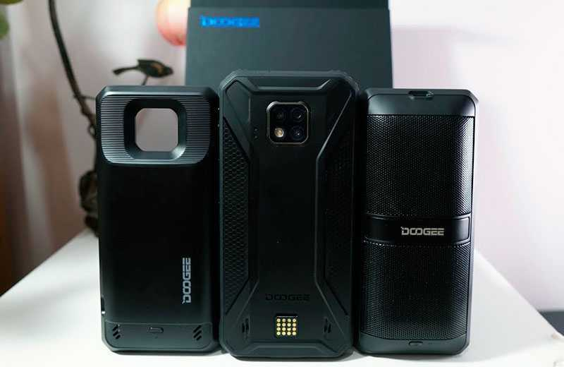 Doogee S95 Pro из коробки