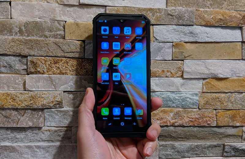 Doogee S95 Pro дизайн