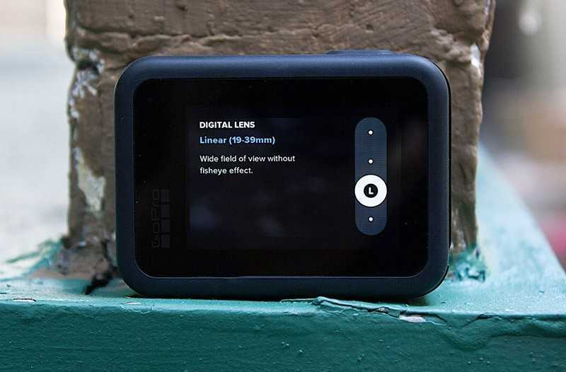 GoPro Hero 8 Black интерфейс