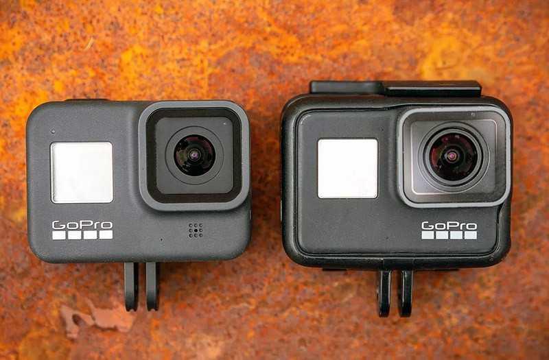 Сравнение характеристик GoPro Hero 8 Black