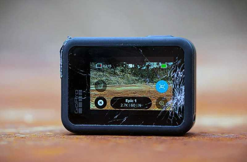 GoPro Hero 8 Black экран