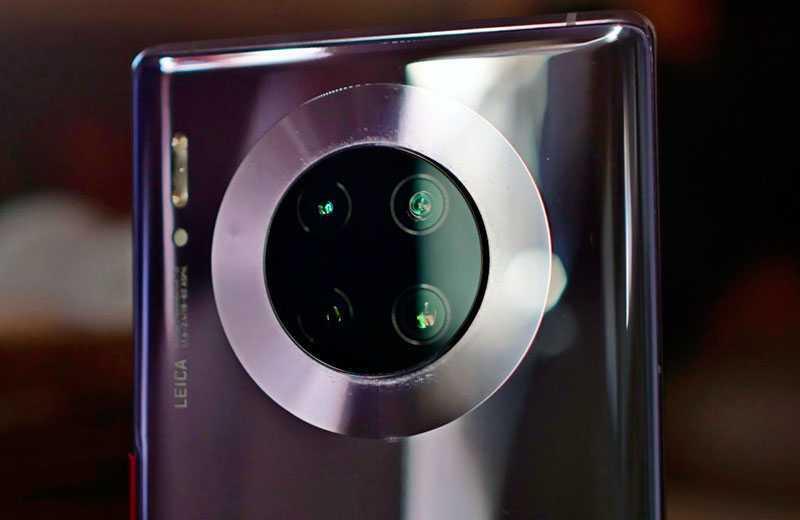 Huawei Mate 30 Pro камеры
