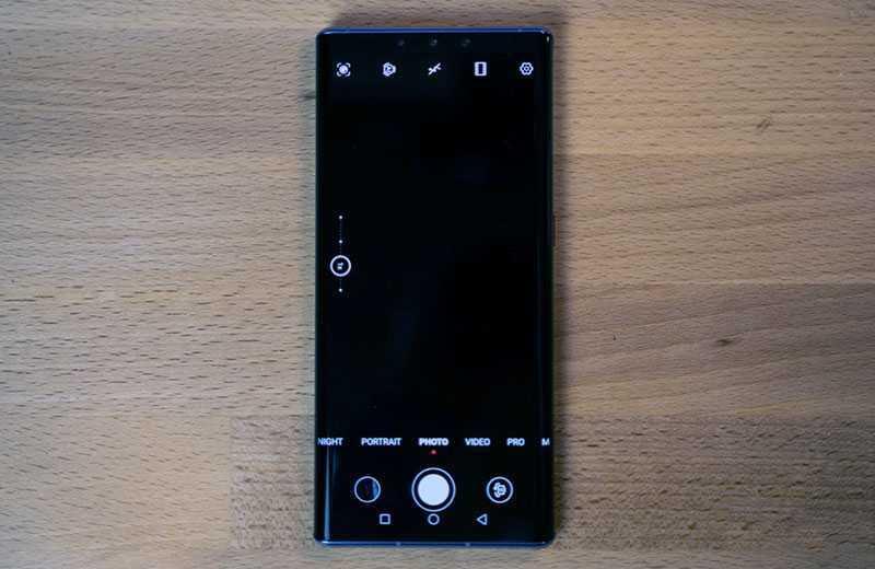 Камеры в Huawei Mate 30 Pro
