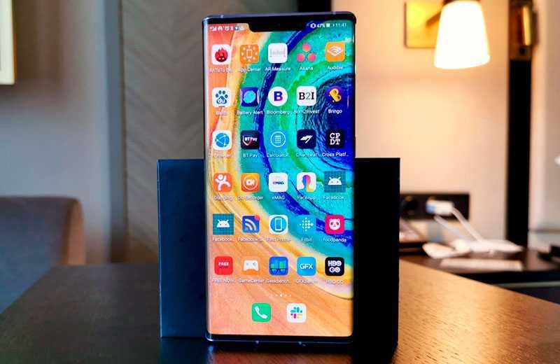 Huawei Mate 30 Pro производительность