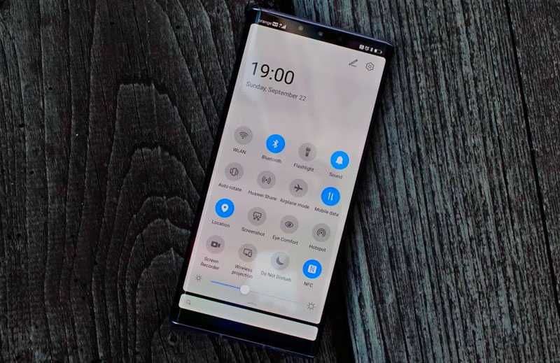 Huawei Mate 30 Pro автономность