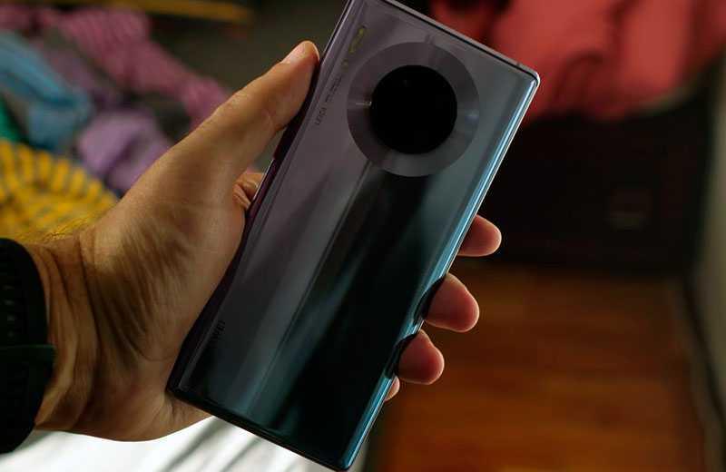 Huawei Mate 30 Pro дизайн