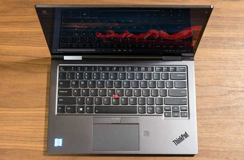 Lenovo ThinkPad X1 Yoga Gen 4 дизайн