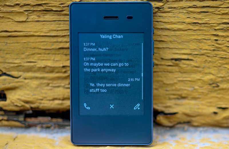 Light Phone 2 на практике