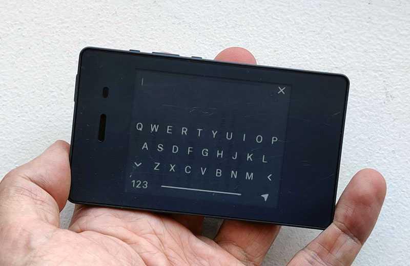 Light Phone 2 клавиатура