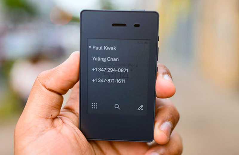 Light Phone 2 особенности