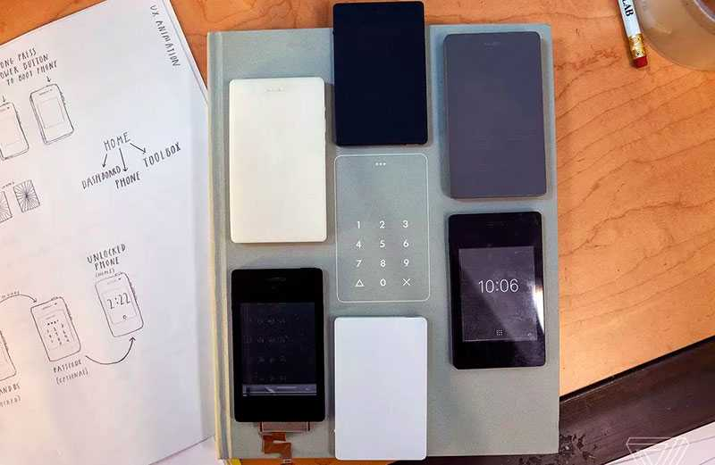 Характеристики Light Phone 2