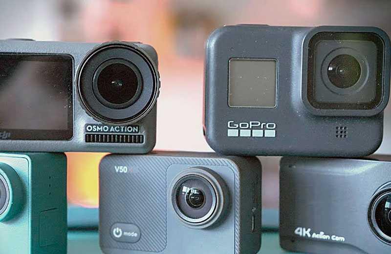 Лучшие экшн-камеры