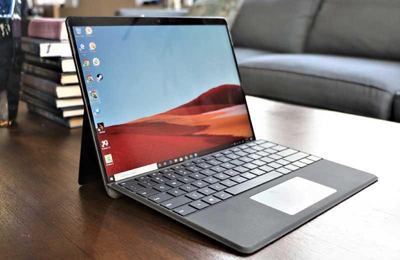 Microsoft Surface Pro X на практике