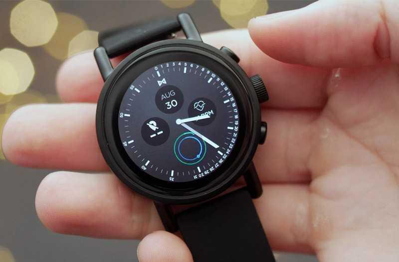 Misfit Vapor X: лучшие умные часы на WearOS