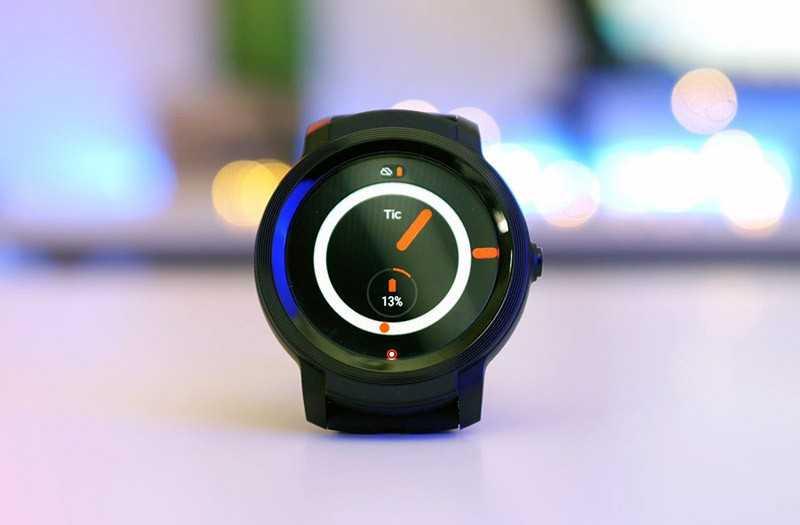 Mobvoi Ticwatch E2: лучшее соотношение цена/качество