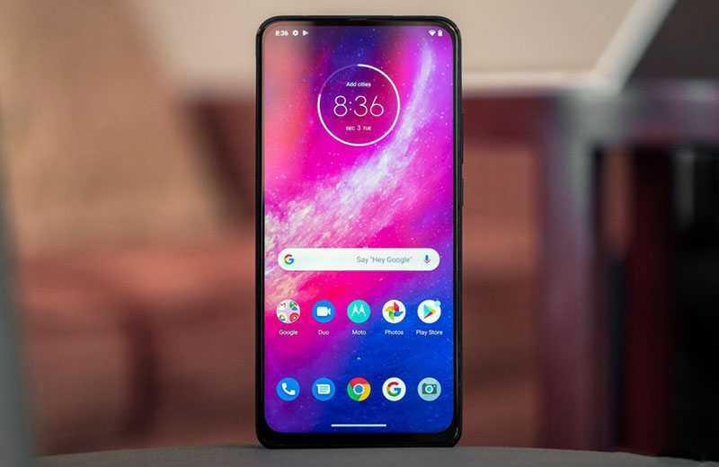 Motorola One Hyper ОС