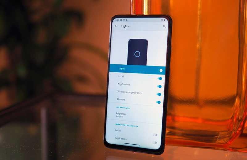 Motorola One Hyper ПО