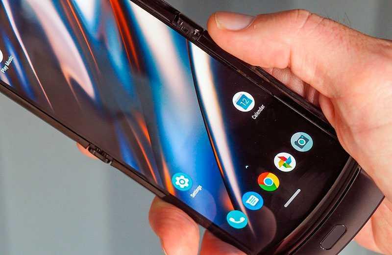 Раскладушка Motorola Razr 2019