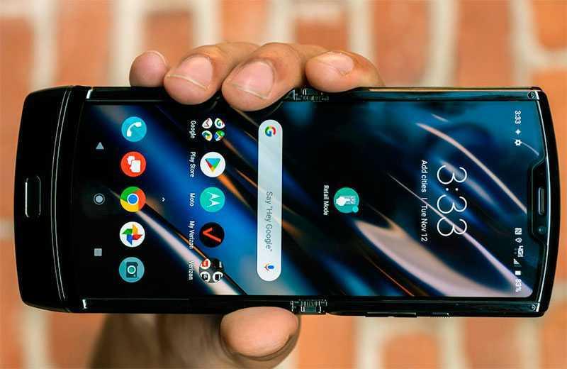 Экран Motorola Razr 2019