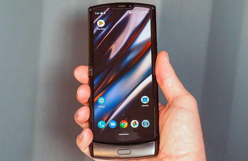 Motorola Razr 2019 ОС