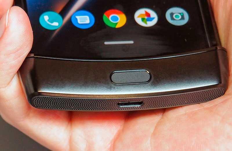 Motorola Razr 2019 автономность