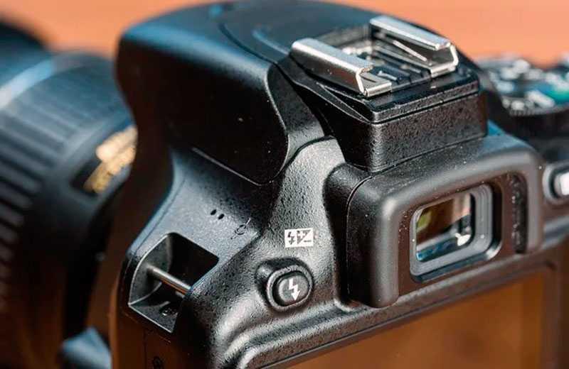 Nikon D3500 видоискатель