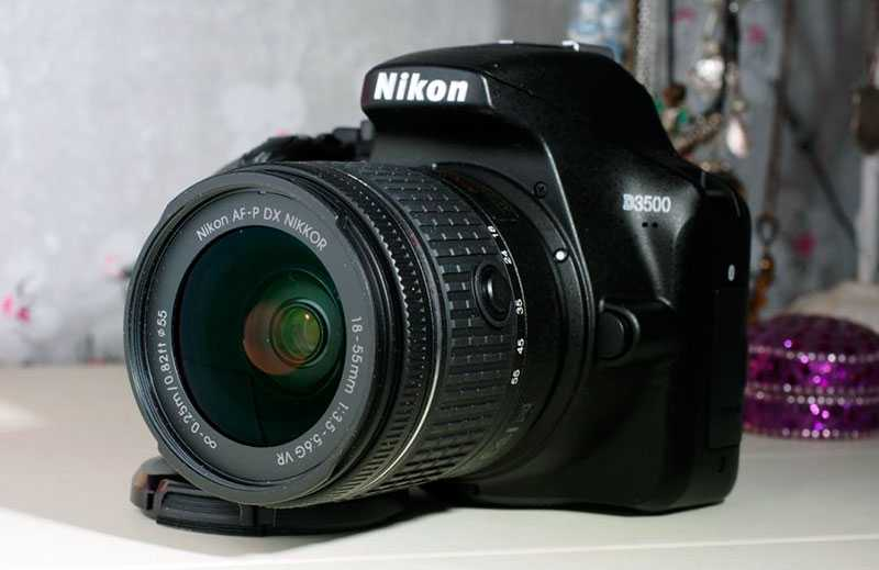 Nikon D3500 автофокус