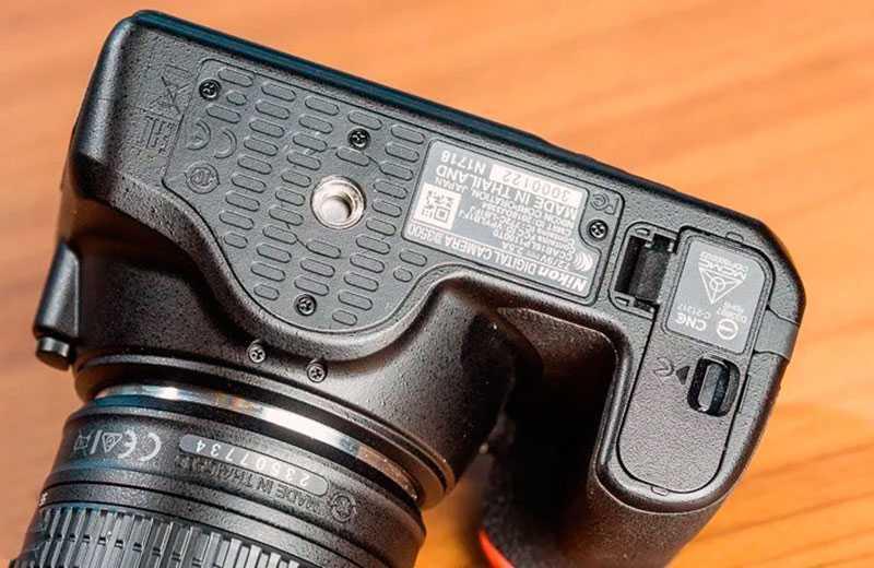 Nikon D3500 автономность