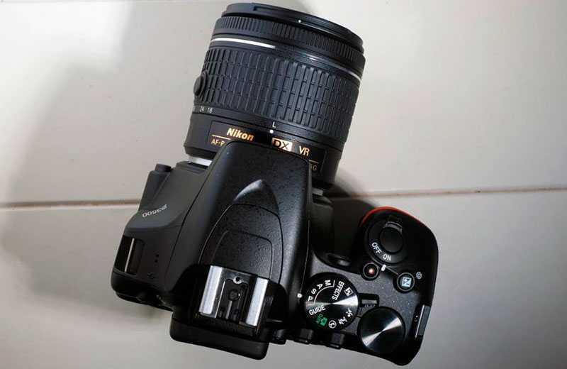 Nikon D3500 особенности