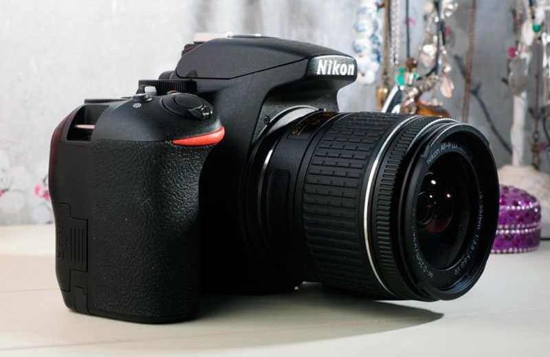 Nikon D3500 конструкция