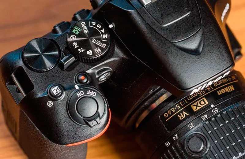 Тест Nikon D3500