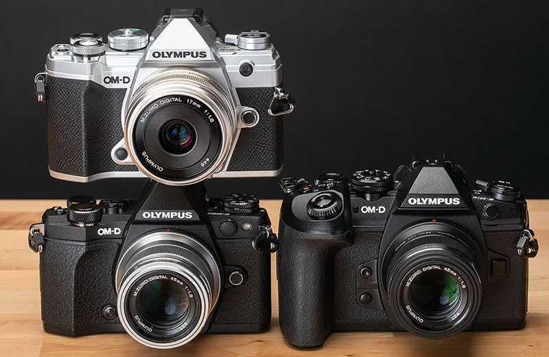 Olympus OM-D E-M5 Mark III сравнения