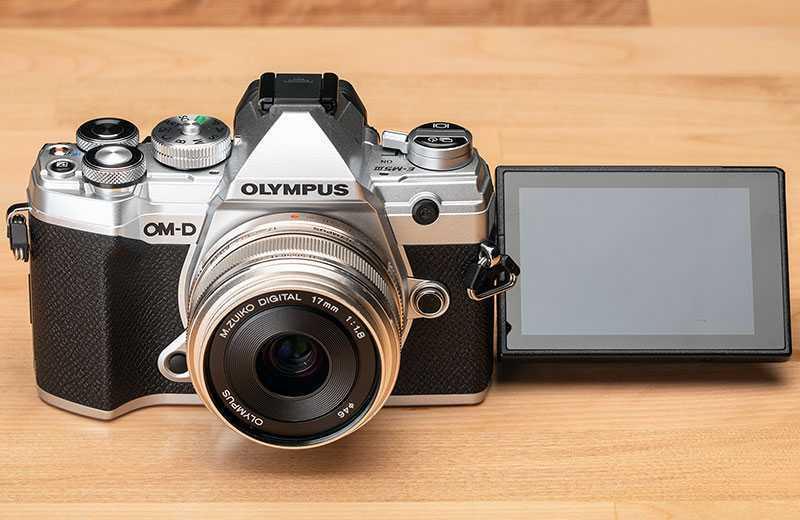 Olympus OM-D E-M5 Mark III управление