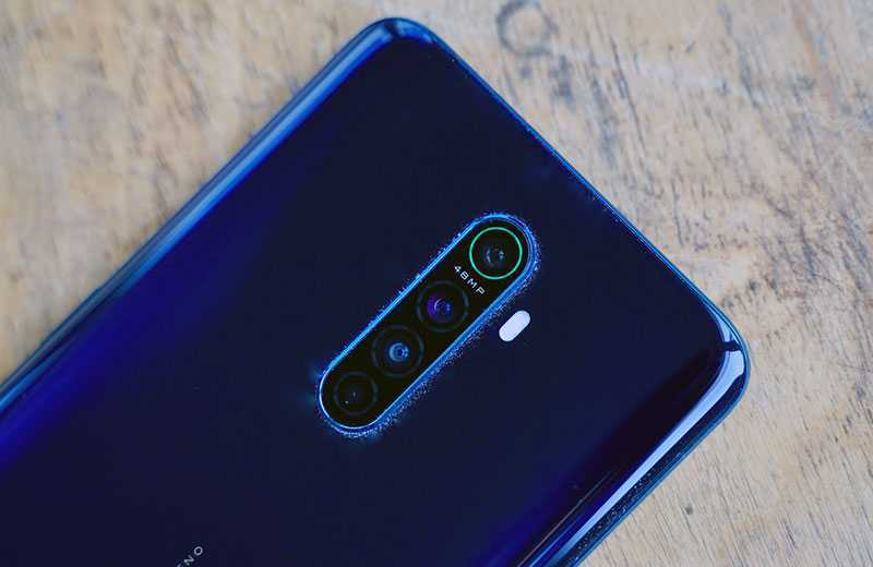 Oppo Reno Ace съёмка