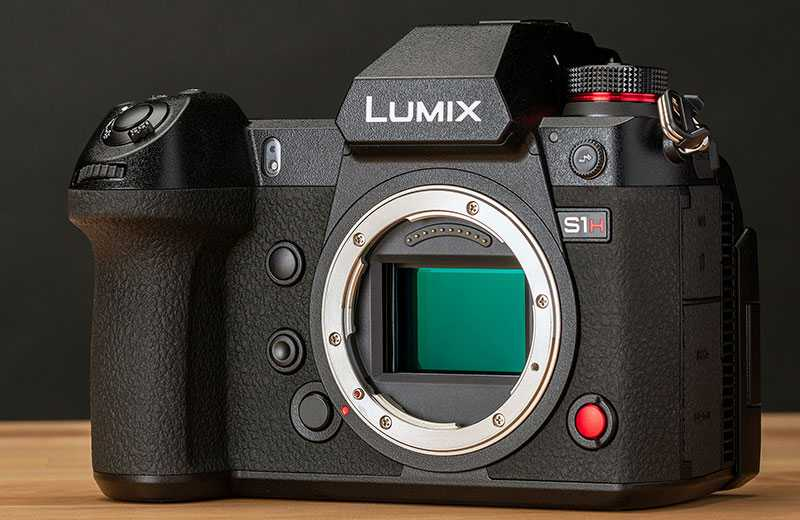Panasonic S1H фотокамера